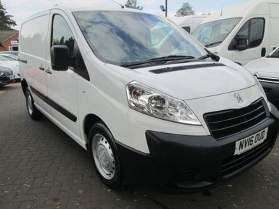 Peugeot Expert Panel Van 1.6 HDi (EU5) L1 H1 SWB 4dr
