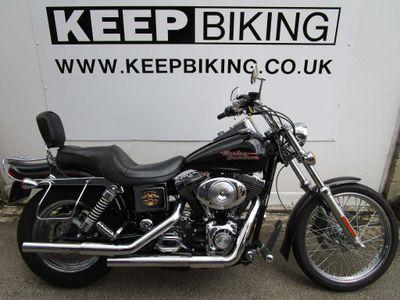 Harley-Davidson Dyna Custom Cruiser 1450 FXDWG Dyna Wide Glide