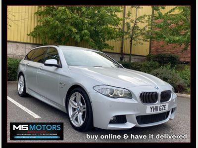 BMW 5 Series Estate 3.0 525d M Sport Touring 5dr