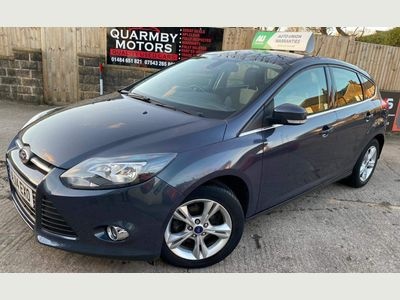 Ford Focus Hatchback 1.6 TDCi Zetec 5dr
