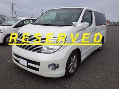 Nissan Elgrand MPV Highway Star Sunroof Curtains P doors