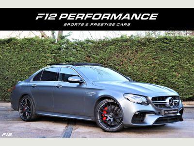 Mercedes-Benz E Class Saloon 4.0 E63 BiTurbo V8 AMG S (Premium Plus) SpdS MCT 4MATIC+ (s/s) 4dr