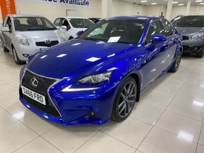 Lexus IS 200 Saloon 2.0 F Sport (Premier Pack) 4dr