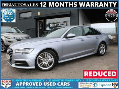 Audi A6 Saloon Saloon 3.0 TDI V6 S line S Tronic (s/s) 4dr