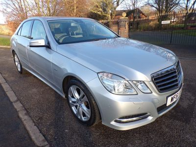 Mercedes-Benz E Class Saloon 3.0 E350 CDI BlueEFFICIENCY Avantgarde Edition 125 G-Tronic 4dr