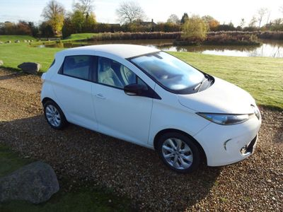 Renault Zoe Hatchback 22kWh Dynamique Intens Auto 5dr (Battery Lease)