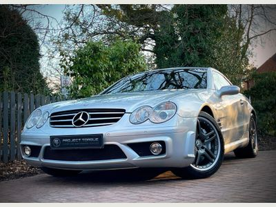 Mercedes-Benz SL Class Convertible 5.4 SL55 AMG 2dr
