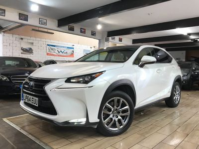 Lexus NX 300h SUV 2.5 Luxury (Convenience Pack) E-CVT 4WD 5dr (Sunroof)