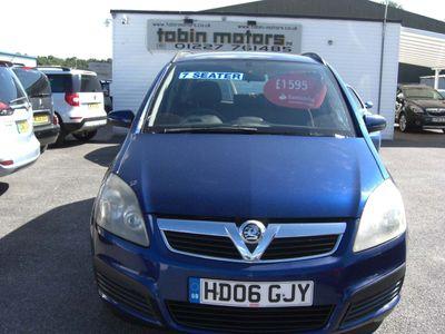 Vauxhall Zafira MPV 1.6 i 16v Expression 5dr