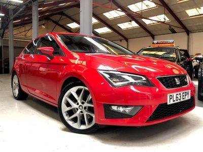 SEAT Leon Hatchback 2.0 TDI CR CR FR (Tech Pack) SportCoupe (s/s) 3dr