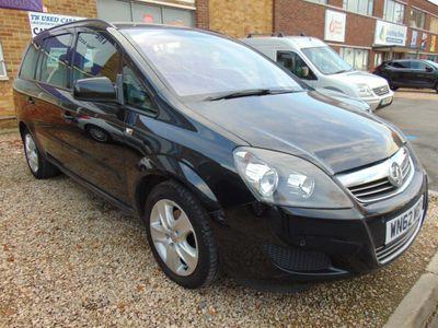 Vauxhall Zafira MPV 1.6 i VVT 16v Exclusiv 5dr (nav)