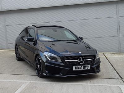 Mercedes-Benz CLA Class Estate 2.1 CLA220 AMG Sport Shooting Brake 7G-DCT (s/s) 5dr