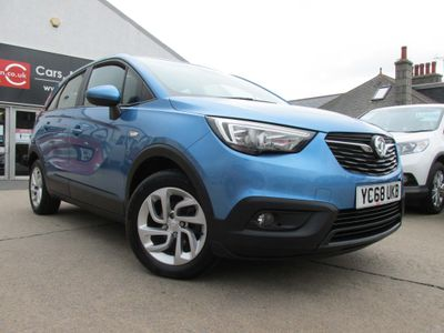 Vauxhall Crossland X SUV 1.6 Turbo D ecoTEC BlueInjection SE Nav (s/s) 5dr