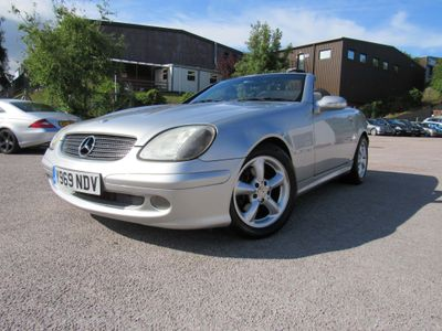 Mercedes-Benz SLK Convertible 2.3 SLK230 Kompressor 2dr