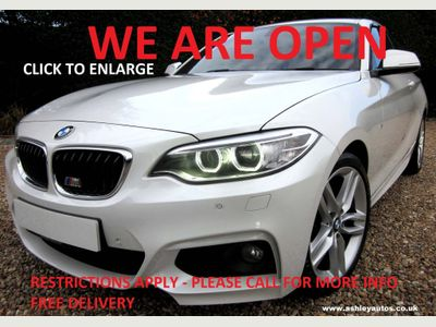 BMW 2 Series Coupe 2.0 220d M Sport Auto (s/s) 2dr