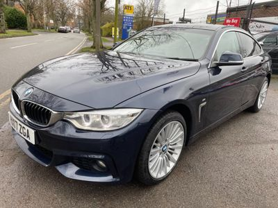 BMW 4 Series Gran Coupe Saloon 2.0 420d Luxury Gran Coupe Auto xDrive (s/s) 5dr
