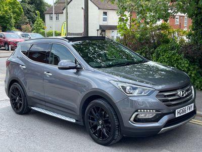 Hyundai Santa Fe SUV 2.2 CRDi Blue Drive Premium SE Auto 4WD (s/s) 5dr (7 Seat)