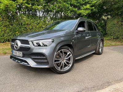 Mercedes-Benz GLE Class SUV 2.9 GLE400d AMG Line (Premium Plus) G-Tronic 4MATIC (s/s) 5dr (7 Seat)
