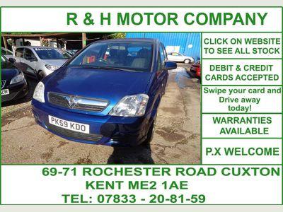 Vauxhall Meriva MPV 1.4 i 16v Club 5dr
