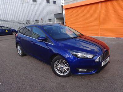 Ford Focus Hatchback 1.0T EcoBoost Zetec Edition Auto (s/s) 5dr