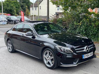 Mercedes-Benz C Class Saloon 2.0 C200 AMG Line (Premium Plus) G-Tronic+ (s/s) 4dr