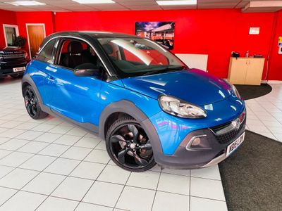 Vauxhall ADAM Hatchback 1.4 i ROCKS Hatchback 3dr