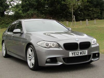 BMW 5 SERIES Saloon 3.0 530d BluePerformance M Sport 4dr