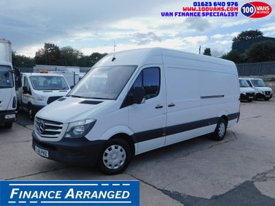 Mercedes-Benz Sprinter Panel Van 2.1CDI 130PS LWB AIR CON ULEZ FREE