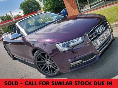 Audi S5 Convertible 3.0 TFSI V6 Cabriolet S Tronic quattro (s/s) 2dr