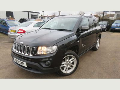 Jeep Compass SUV 2.2 CRD LIMITED 4X4 70th Anniversary