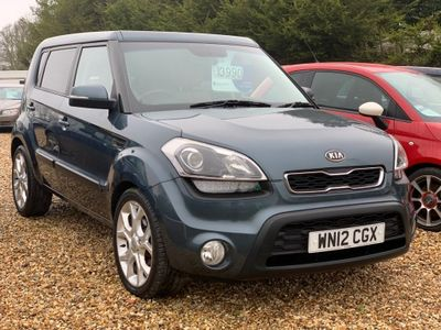Kia Soul Hatchback 1.6 CRDi Hunter 5dr