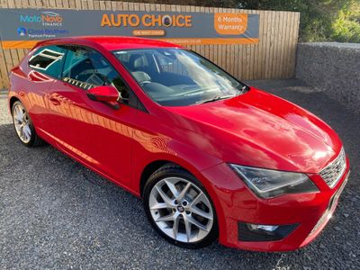 SEAT Leon Hatchback 1.8 TSI FR (Tech Pack) SportCoupe (s/s) 3dr