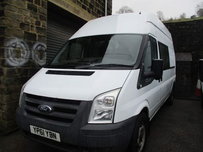Ford Transit Panel Van 2.4 TDCi 350 Duratorq High Roof LWB 3dr