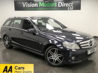 MERCEDES-BENZ C CLASS Estate 2.1 C200 CDI BlueEFFICIENCY Sport 5dr
