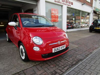 Fiat 500 Hatchback 0.9 TwinAir Colour Therapy Dualogic 3dr