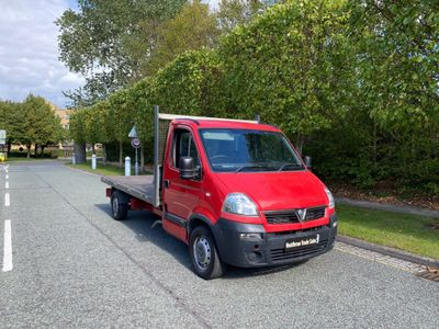 Vauxhall Movano Dropside 2.5 CDTI 16v 3500 Dropside Truck 2dr (MWB)