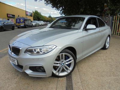 BMW 2 Series Coupe 2.0 220i M Sport Auto (s/s) 2dr