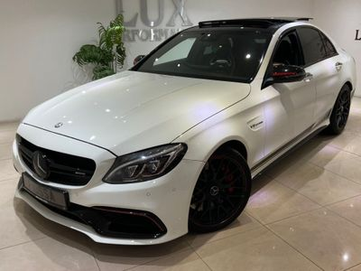 Mercedes-Benz C Class Saloon 4.0 C63 V8 BiTurbo AMG S Edition 1 SpdS MCT (s/s) 4dr