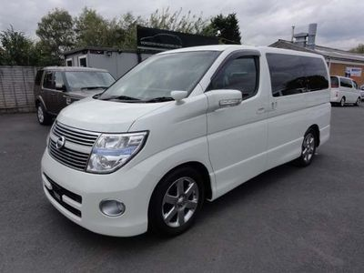 NISSAN ELGRAND MPV HIGHWAY STAR RED LEATHER EDITION