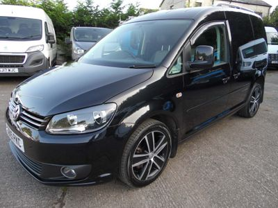 Volkswagen Caddy Panel Van 1.6 TDI BlueMotion Tech C20 Black Edition Panel Van 4dr