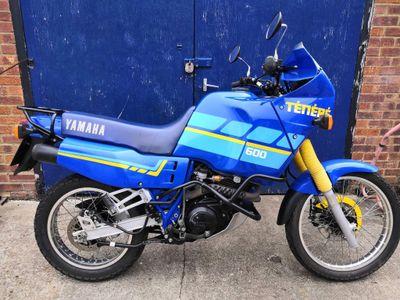 Yamaha XT600 Trail Bike 600