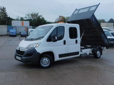 CITROEN RELAY Tipper 2.0 BLUE HDI DOUBLE CAB EUR0 6 ULEZ COM