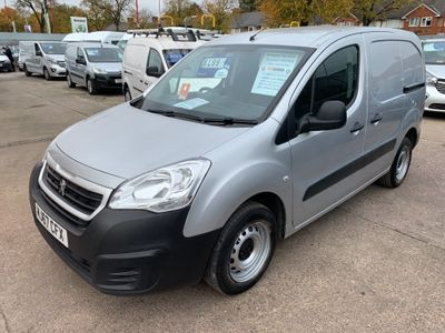 Peugeot Partner Panel Van 1.6HDi BLUE SE 100 MODEL L1 (EURO6)