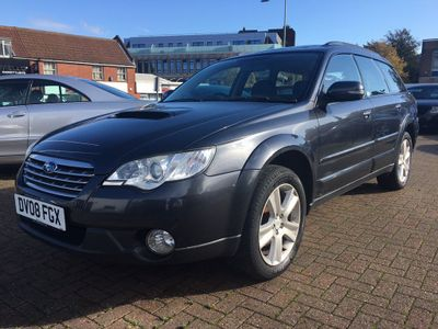 SUBARU OUTBACK Estate 2.0 D REn 5dr (leather)