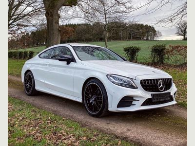 Mercedes-Benz C Class Coupe 2.0 C300 AMG Line G-Tronic+ (s/s) 2dr