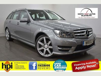 Mercedes-Benz C Class Estate 2.1 C200 CDI BlueEFFICIENCY Sport G-Tronic 5dr