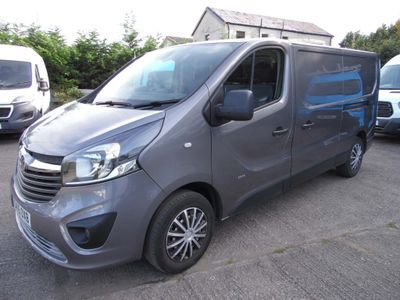 Vauxhall Vivaro Panel Van 1.6 CDTi 2900 Panel Van 5dr Diesel Manual L2 H1 EU5 (115 ps)