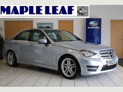 Mercedes-Benz C Class Saloon 1.8 C250 BlueEFFICIENCY AMG Sport 7G-Tronic Plus 4dr