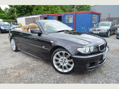BMW 3 Series Convertible 2.0 320Cd Sport 2dr