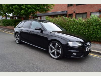 Audi A4 Avant Estate 3.0 TDI V6 Black Edition Plus Avant S Tronic quattro 5dr